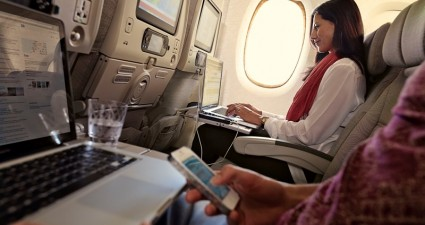 wi-fi A380 d'Emirates