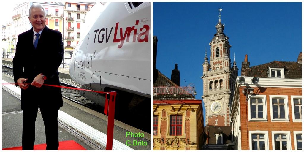 TGV Lyria Lille-Genève