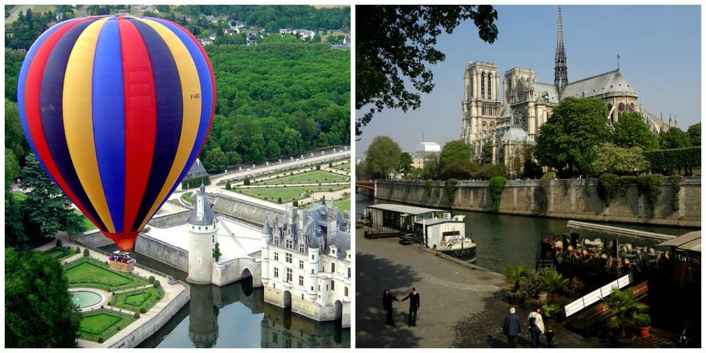 Paris, ballons, montgolfières