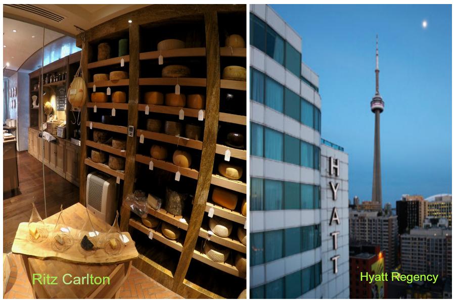 Toronto Hyatt et Ritz