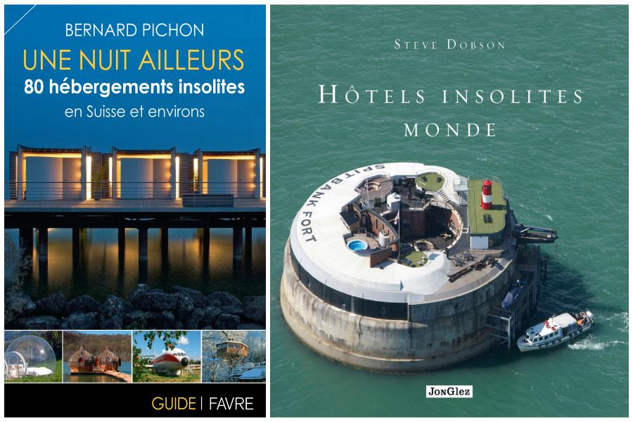 Guide hôtels insolites