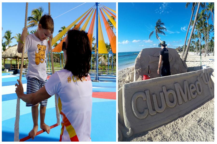 Faire son cirque au Club Med