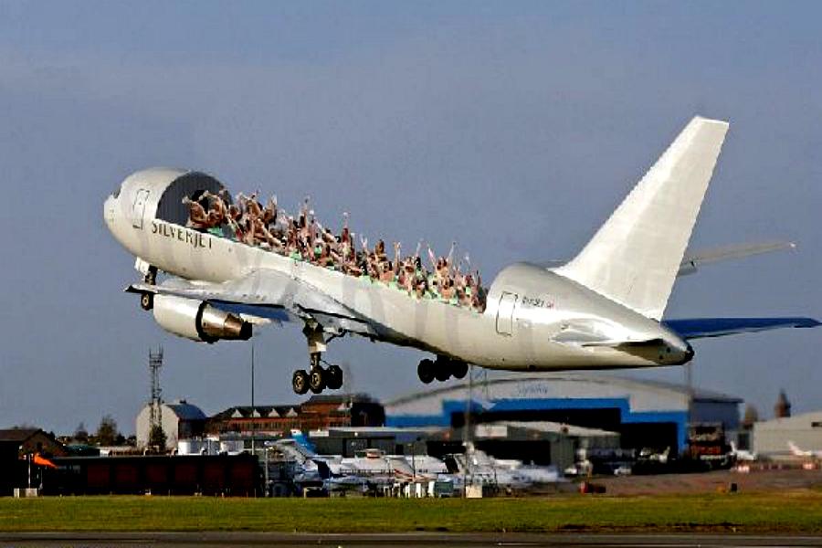 Avion décapotable