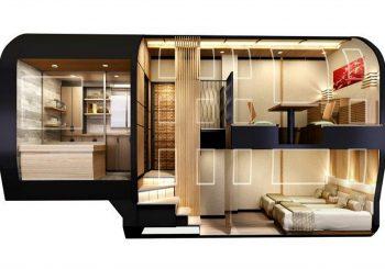 train de luxe au Japon
