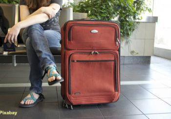 valises en avion