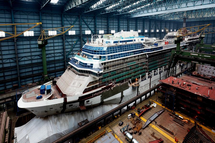 Allemagne : VIDEO chantiers navals de Papenburg