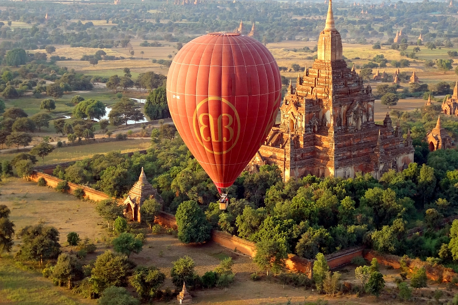 Myanmar/Birmanie: VIDEO Bagan