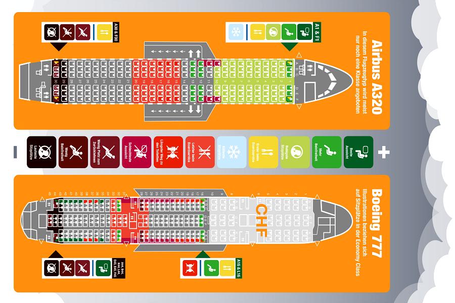 Choisissez le meilleur siège avion !