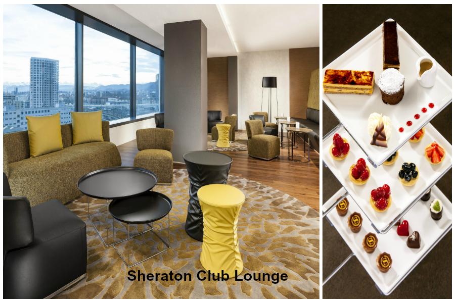 Zurich : le Sheraton et son Club Lounge