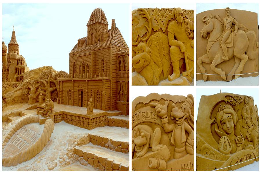 Touquet-Paris-Plage : sculptures de sable