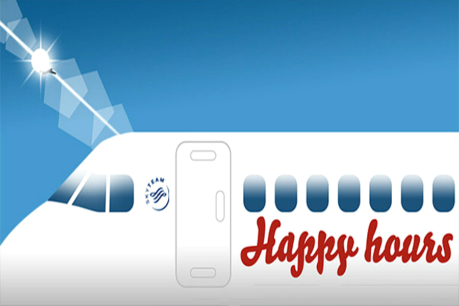 Air France Happy Hour