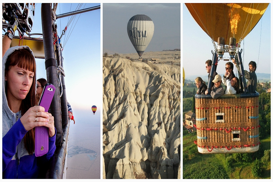 Ballons et Montgolfieres