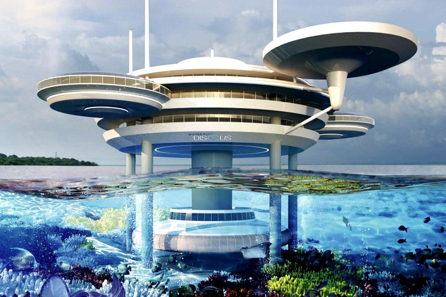 hôtels futuristes