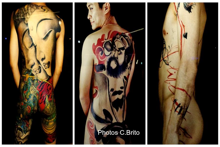 A Paris : les tatouages mis à nu