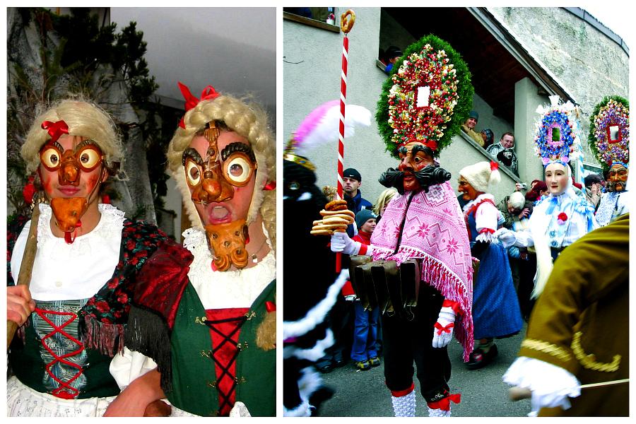 Autriche : le carnaval d'Imst