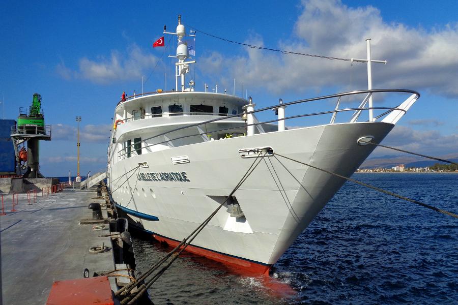 Mer Egée : VIDEO croisière