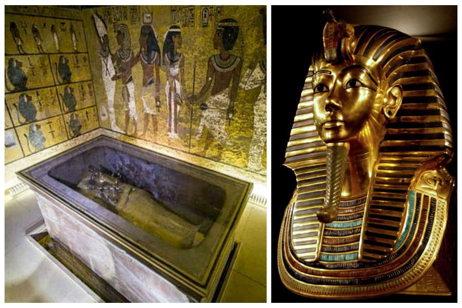 Sensation dans l'Egypte des pharaons