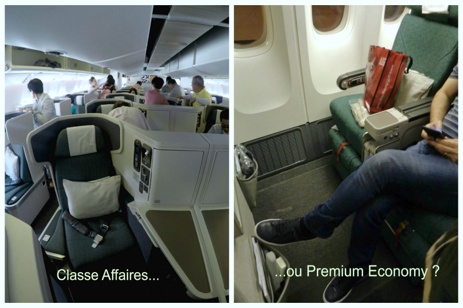Test : Business ou Premium Economy ?