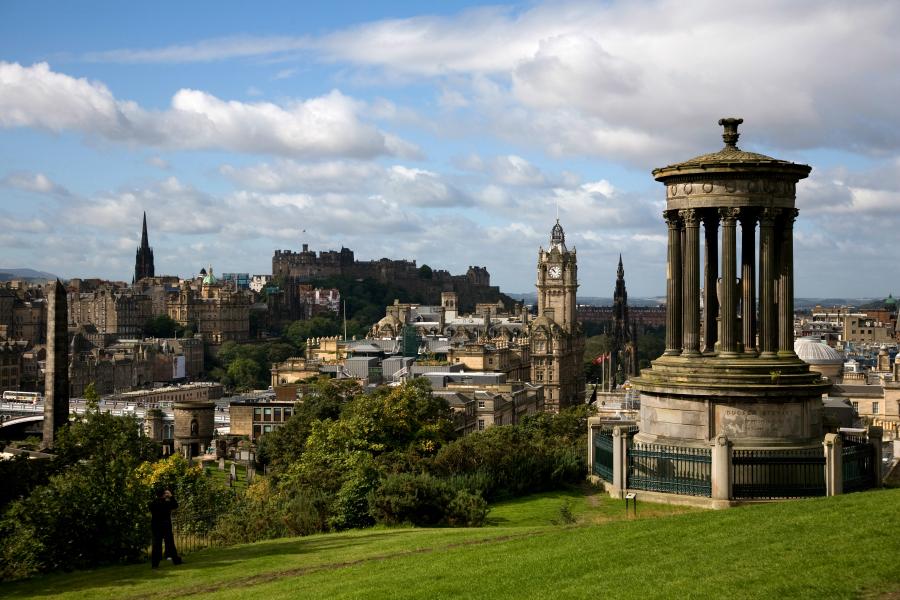 Royaume-Uni : Ecosse  (couleurs écossaises)