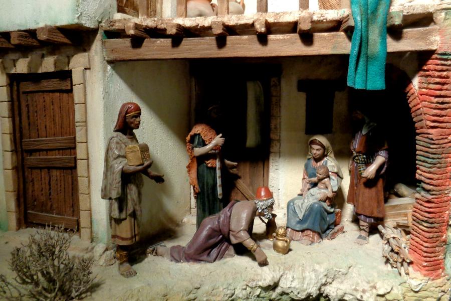 Tradition : santons et crèches de Noël
