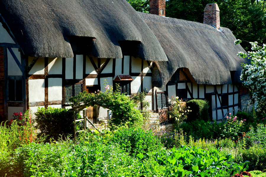 Grande-Bretagne : jardins anglais