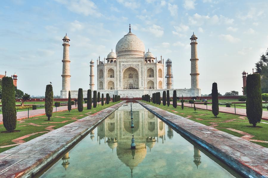 Inde : Taj Mahal