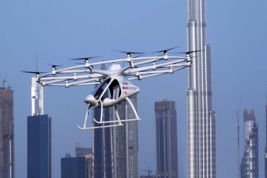 Dubaï : des taxis-drones sans conducteur !