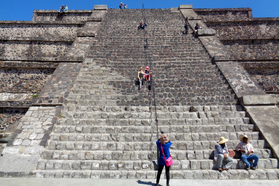 Mexique : VIDEO Teotihuacan