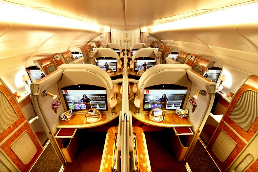 Voler avec Emirates comme en Mercedes