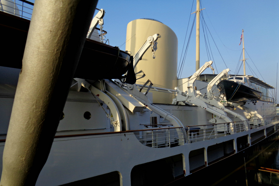 Ecosse : Edimbourg (le Britannia, yacht royal)