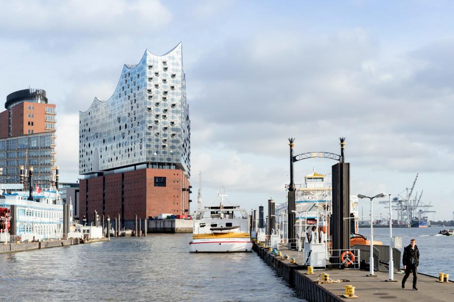 Allemagne : VIDEO Hambourg (Elbphilarmonie)