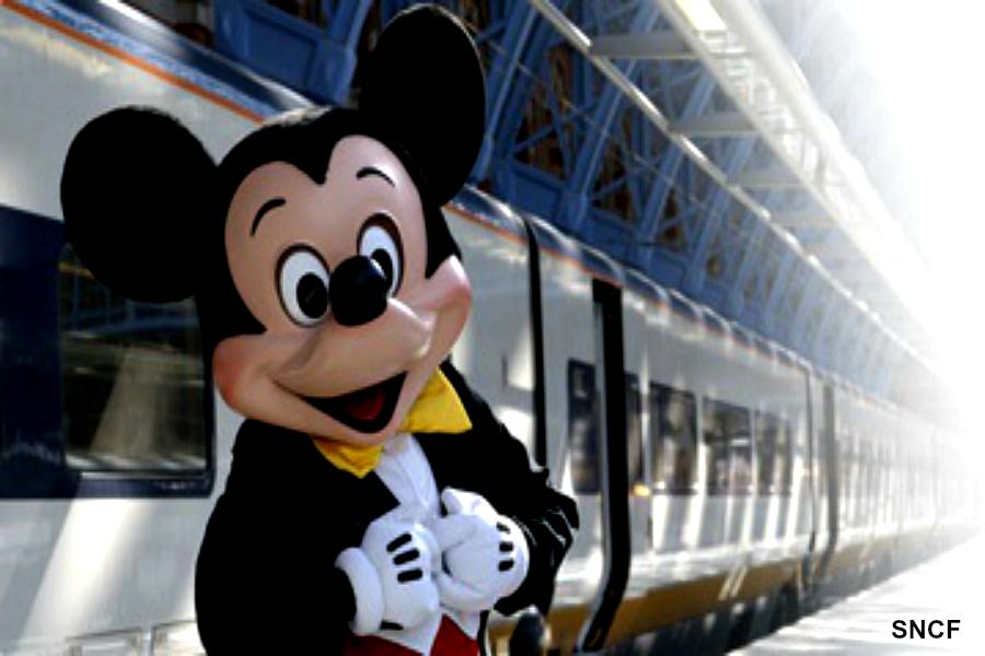 Disneyland : le rêve commence dans le TGV !