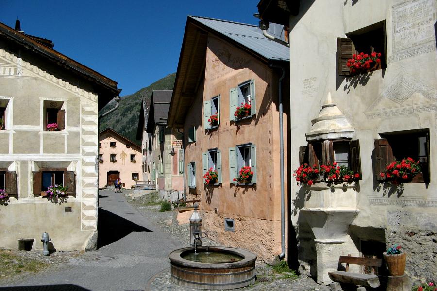 Suisse : Grisons, Engadine