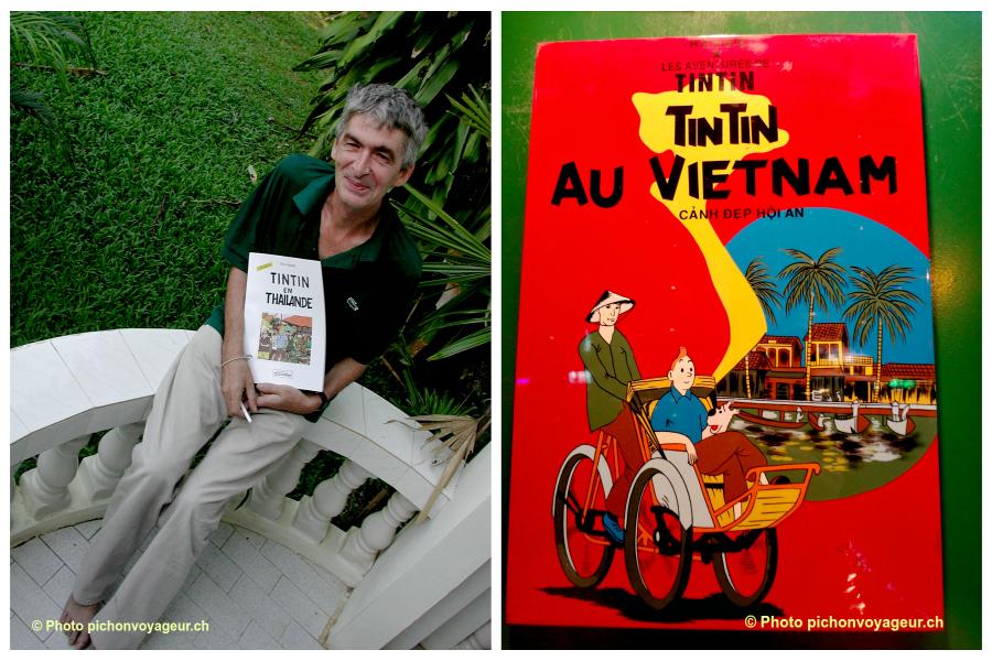 Un Tintin lubrique en Thaïlande