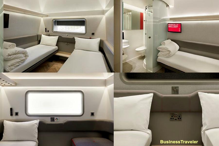 Dormir dans un hôtel capsule ?