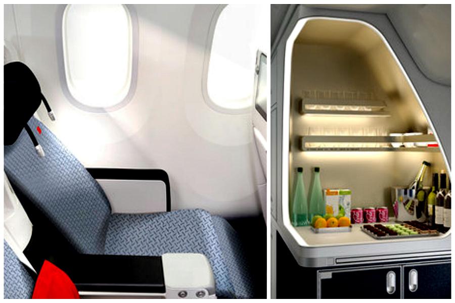 Air France : nouvelles cabines sur Airbus A330