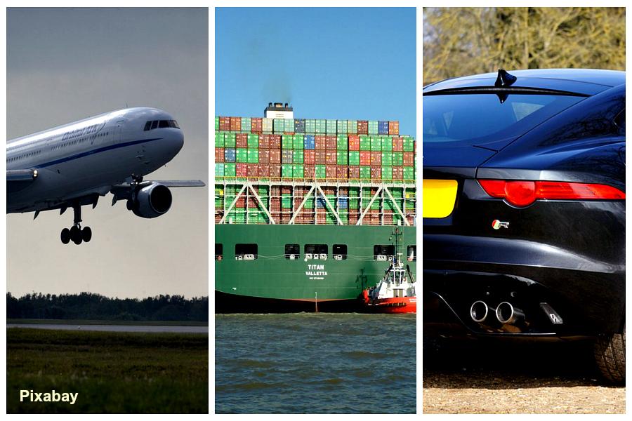 Avion, cargo, voiture : qui pollue le plus ?
