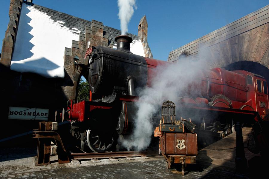 Embarquez à bord du Poudlard Express !