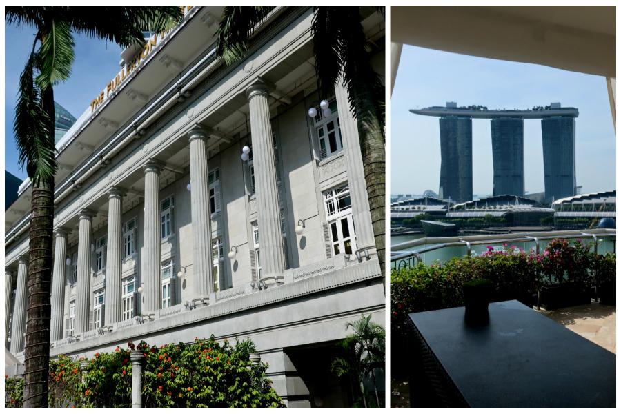 L'Hôtel Fullerton, fleuron du Singapour colonial