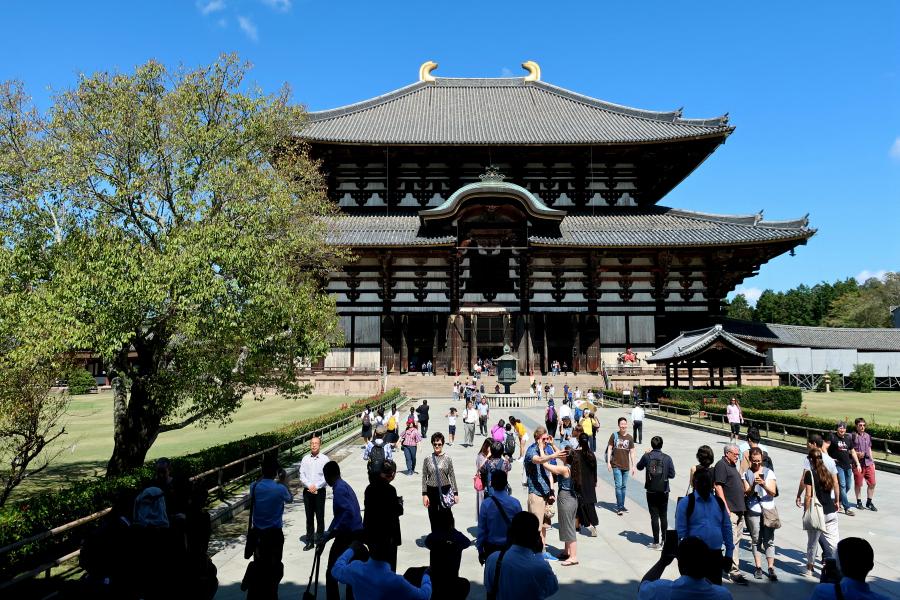 Japon : VIDEO Nara
