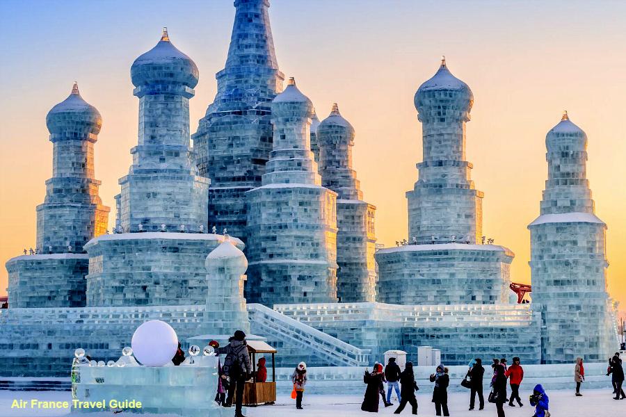 Chine : Festival de glace à Harbin