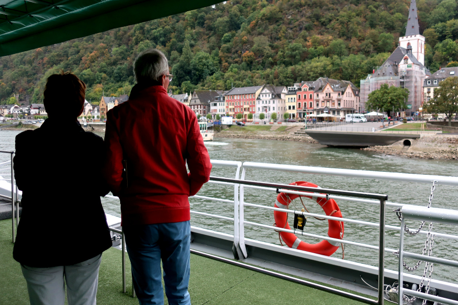 Croisière : VIDEO le Rhin romantique