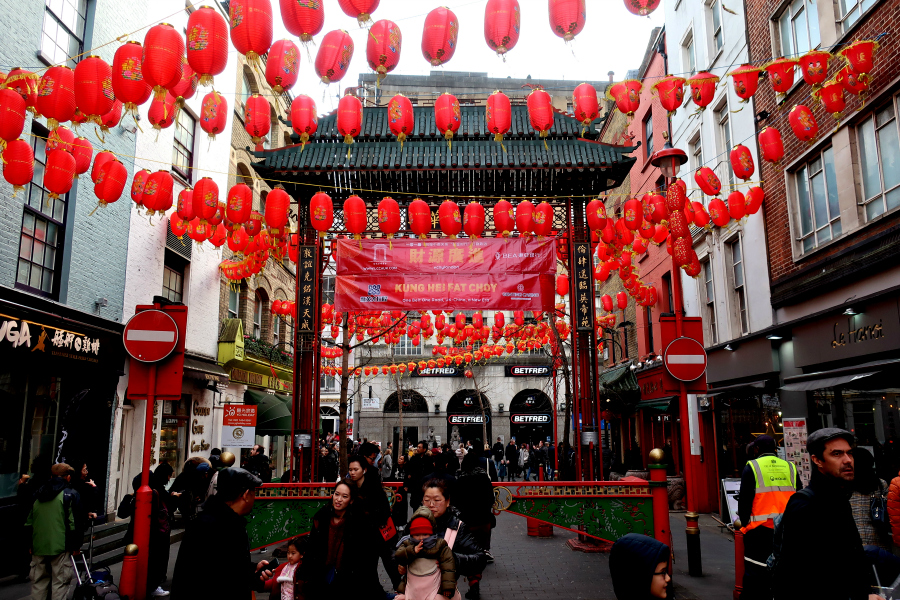 Angleterre : Londres Chinatown