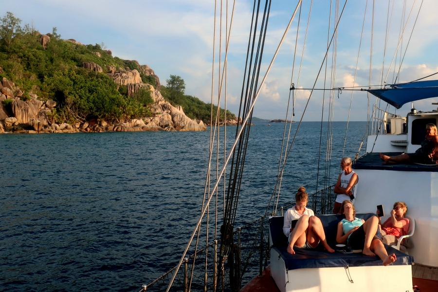 Seychelles : croisière