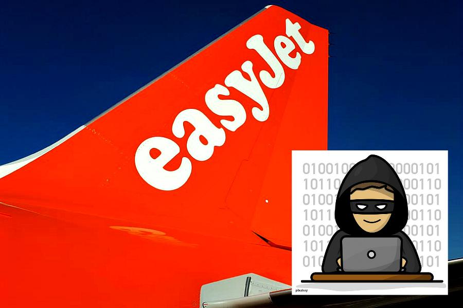 Easyjet victime d'une cyberattaque !