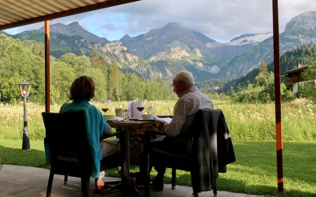 Vacances suisses à Lauenen (Oberland)