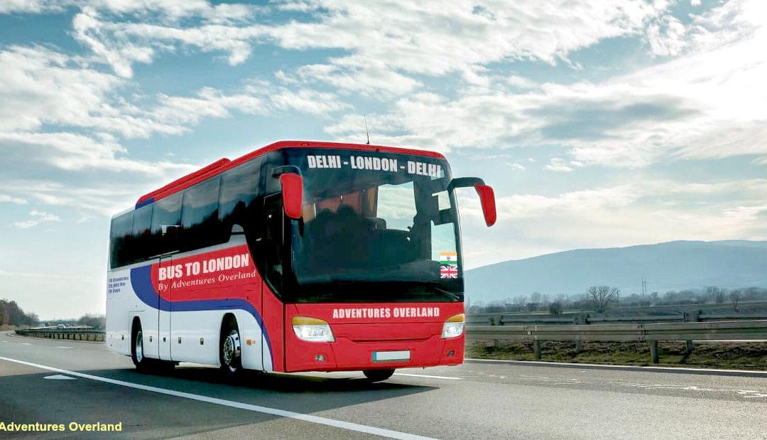 En bus de luxe, de Londres à…Dehli !