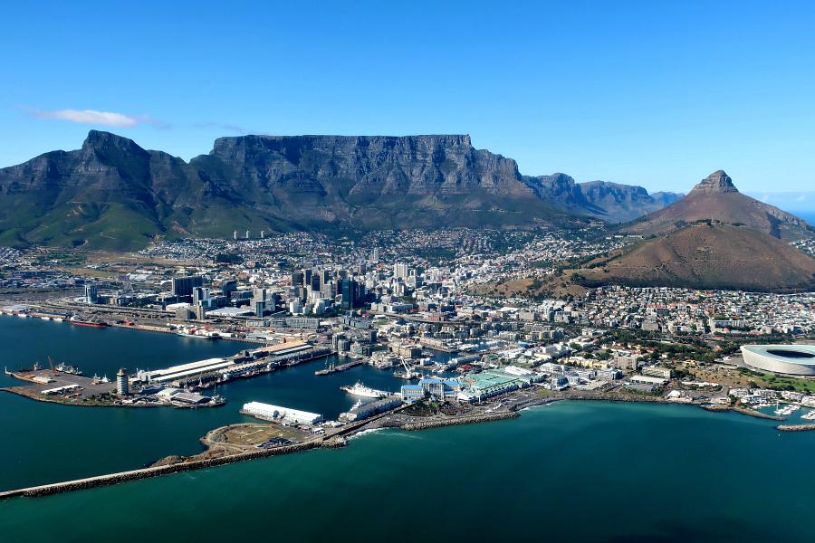 Afrique du Sud : VIDEO Le Cap (Cape Town)