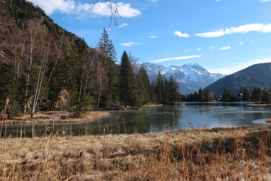 Suisse : VIDEO Champex (lac)