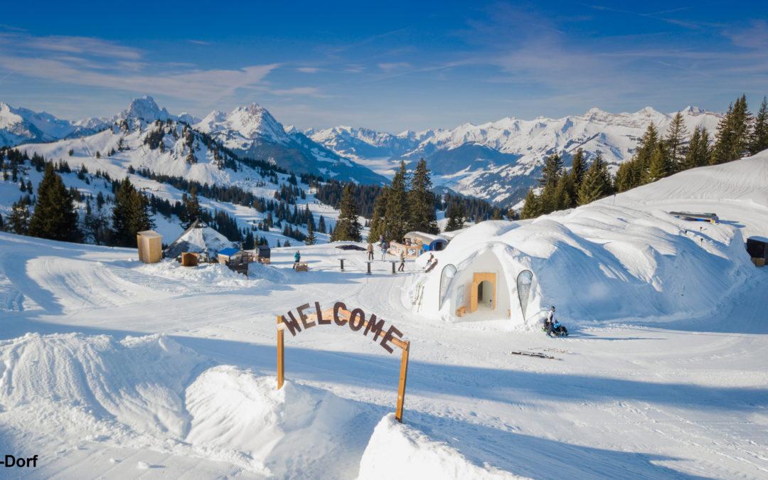 Suisse : dormir dans un igloo